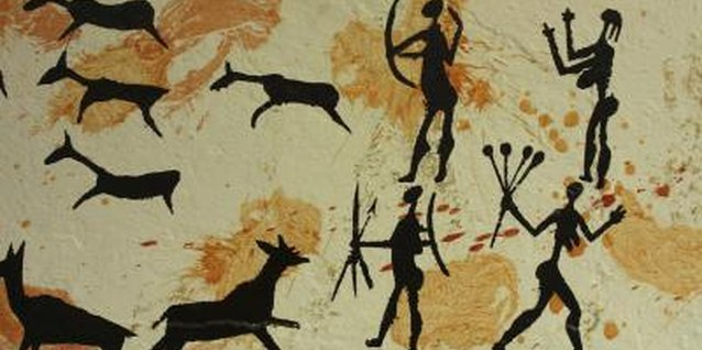 Cave paintings still display the vivid hues of prehistoric artists.