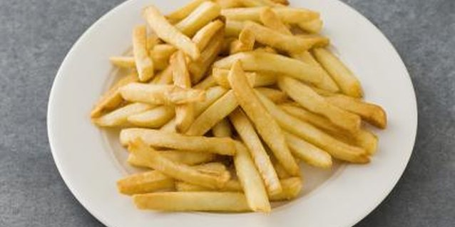 French fries can be made healthier.