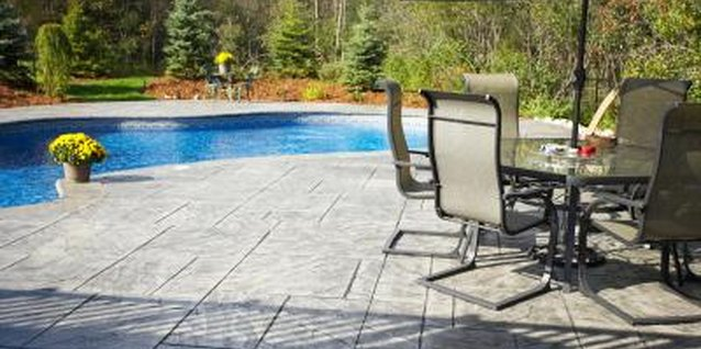How to Paint Over Stamped Concrete