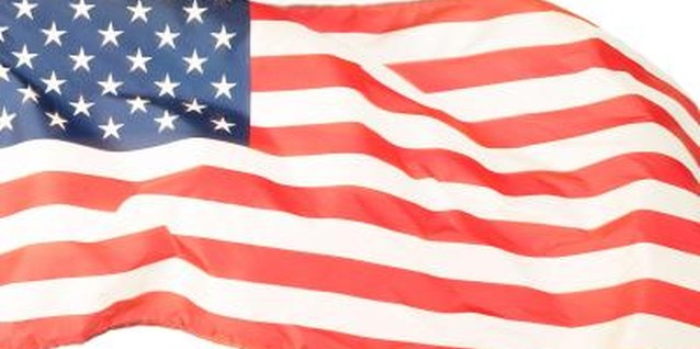 The flag should always wave freely.