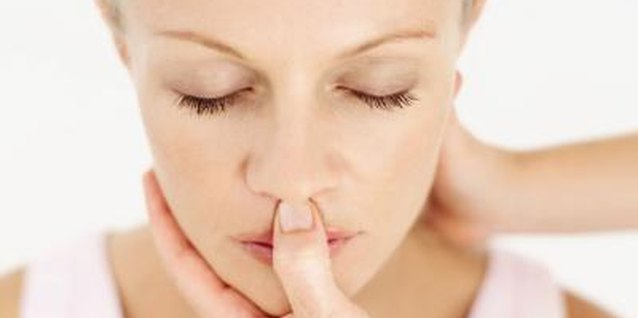 The area just above your lip is an acupressure weight loss point.