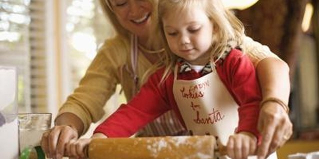 Make dove-shaped cookies with your tot for the 12 Days of Christmas.