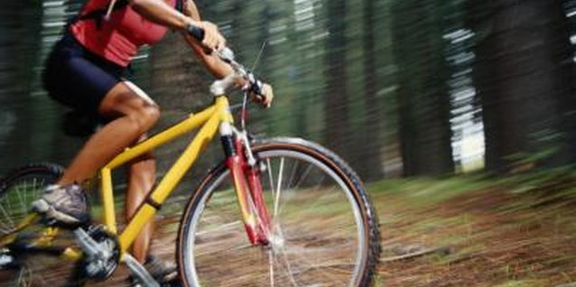 Mountain biking is a great sport in areas with extensive trails.