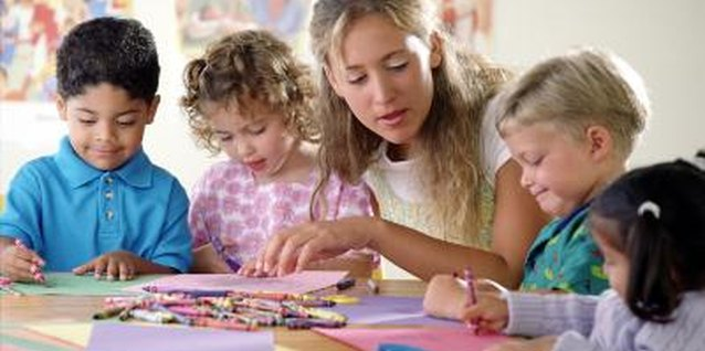 Children love to make crafts for their parents.