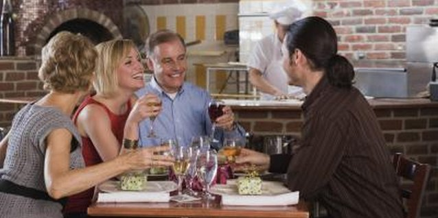 Meeting at your favorite restaurant will help your boyfriend feel comfortable.