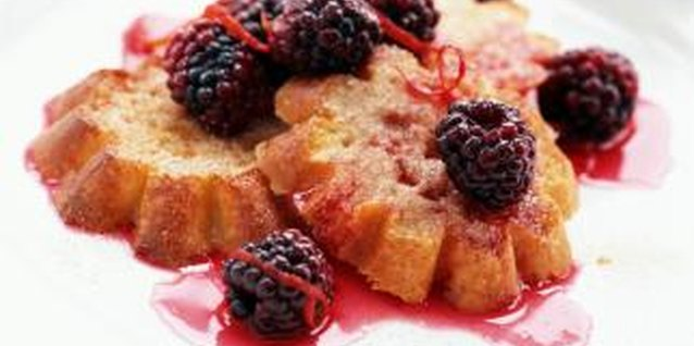 A summertime treat, ripe blackberries can be eaten fresh or used in sauces, jams or jellies.