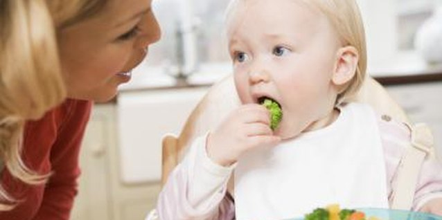 Feed your toddler plenty of vegetables.