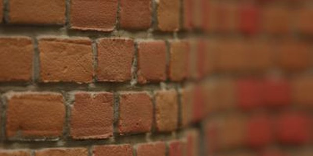 Adjust the bricks position to create a curve that in the wall.