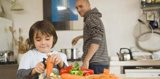 Provide your child with plenty of opportunities to help around the house.