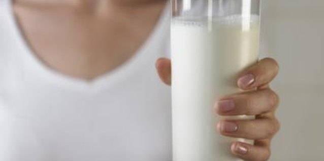 Low-fat buttermilk provides lean protein.