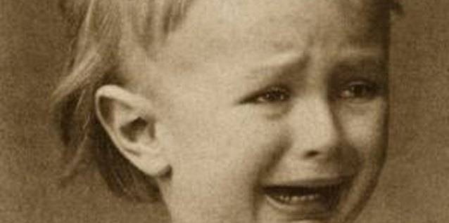 Some children use crying as a form of manipulation.
