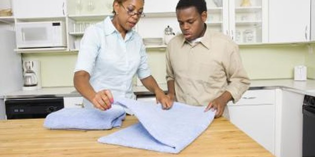 Giving your teen chores is an effective way to teach him responsibility.