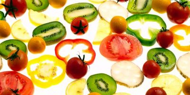 Keep sliced fruits and vegetables in the refrigerator for easy, healthy snacking.