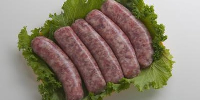 Fresh bratwurst is sold in most supermarkets or specialty delis.