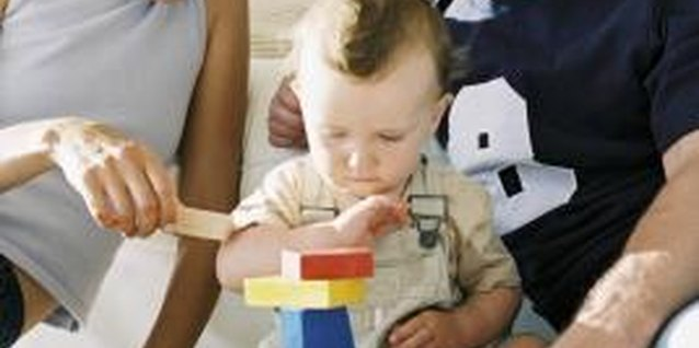 Building blocks enable your 2-year-old to sort and stack, promoting both fine- and gross-motor skills.