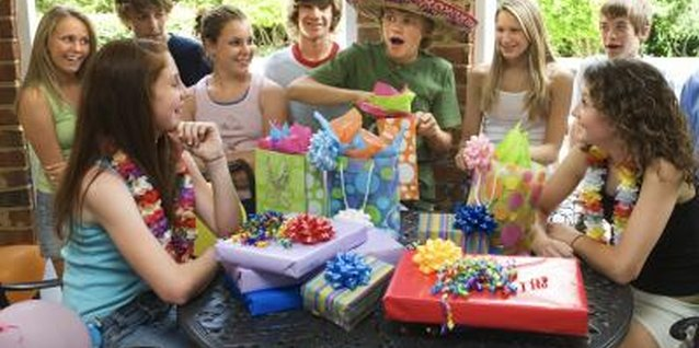 Well-planned birthday parties for young teens can be fun for all.