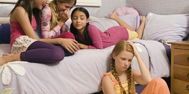 Mean girl behavior is common during the teen years.