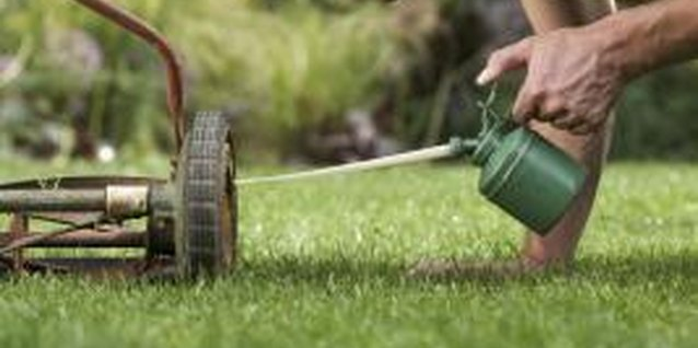 Periodic maintenance will keep your reel mower working for years.