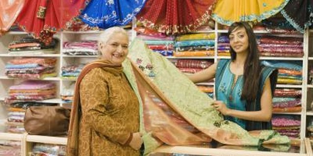 How to Decorate With Antique Indian Saris