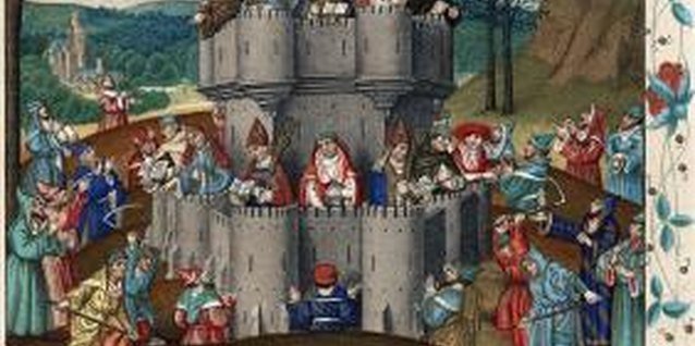 Medieval society was made up of several classes, each with distinct attire.
