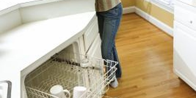 Shut and lock the dishwasher when you're not loading it.