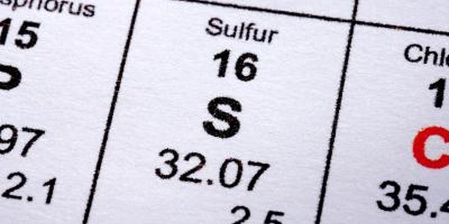 Sulfur has a long history as an insecticide.