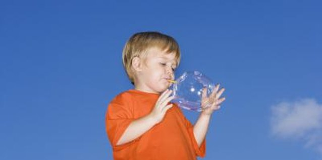 Bubble Blowing Activities for Toddlers