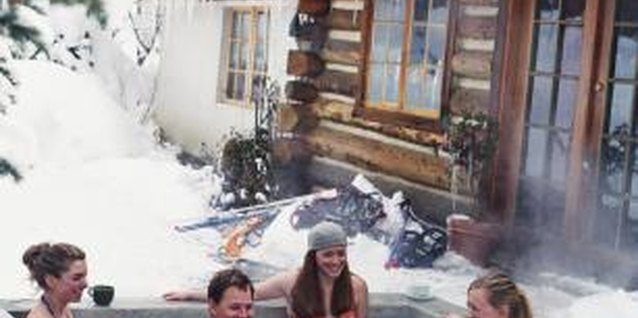 Keep your hot tub as warm as possible -- even in the coldest weather.