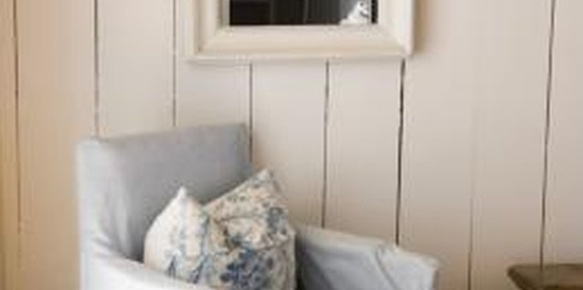 Blend rustic finishes with shabby chic furnishings for a stylish and inviting look.