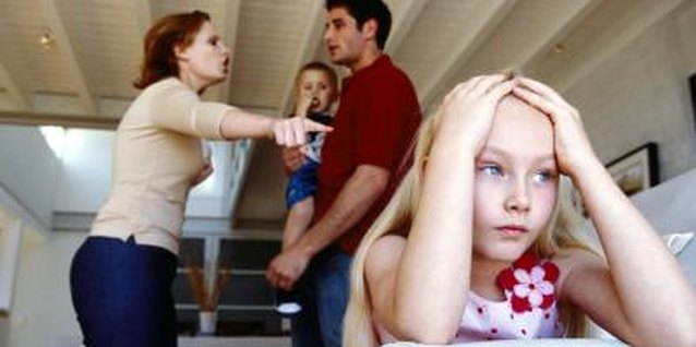 An antagonistic relationship with your ex-husband can damage your kids.