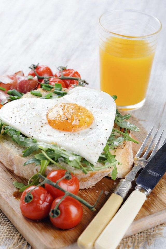 Delicious big breakfast