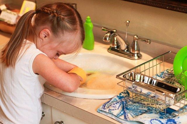 wash dishes