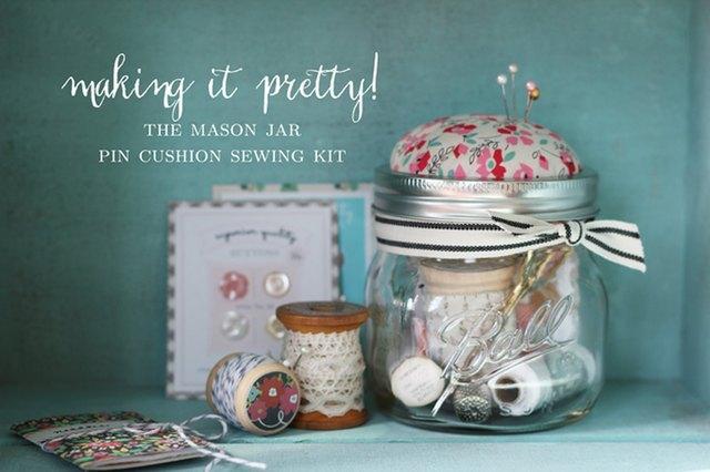 Create pin cushion sewing kits