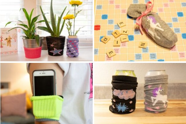 10 Practical Ways to Repurpose Socks