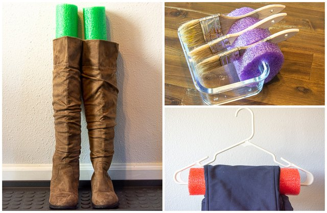 10 ays to Reuse Pool Noodle