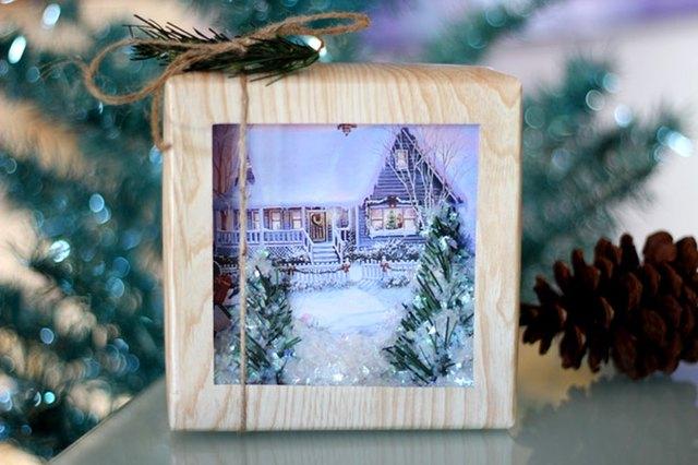 Snow Globe Gift Wrap