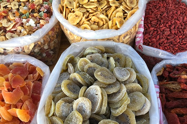 An image of dried fruits.
