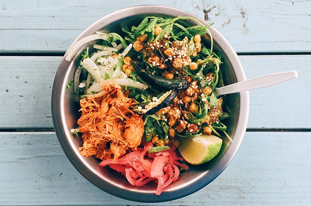 An image of a large salad.
