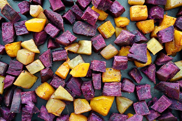 An image of roasted vegetables.