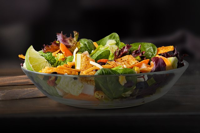McDonald's Southwest Buttermilk Crispy Chicken Salad