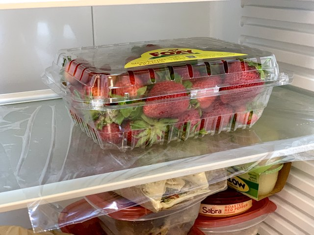 Easy Refrigerator Clean Up