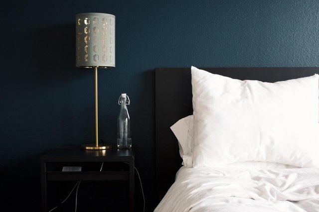 peaceful bedroom before bed