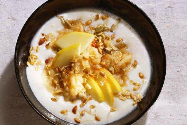 Bircher Microbe Muesli high protein breakfast