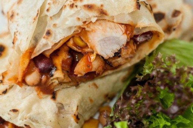 Breakfast Burrito high protein breakfast