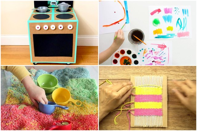 10 Stay-At-Home DIYs to Keep Kids Engaged