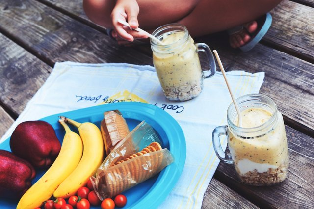frozen banana smoothie