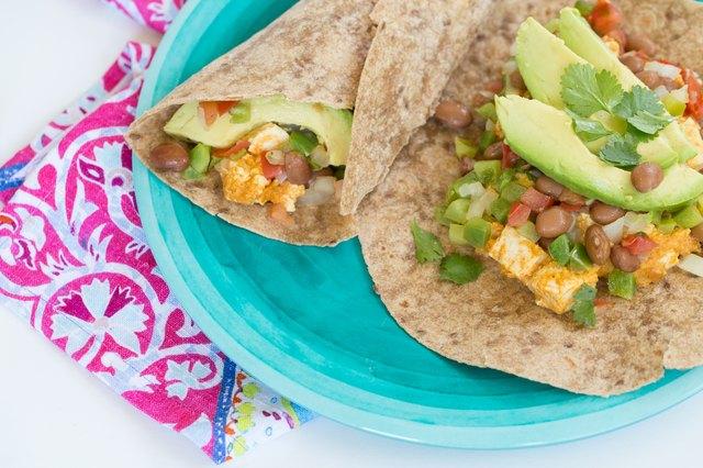 Spicy Breakfast Burrito