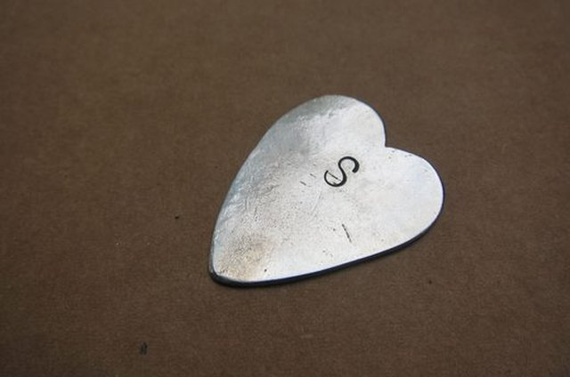 DIY engraved guitar pick
