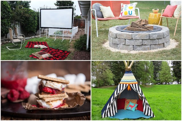 10 Must-Try Backyard Camping DIYs