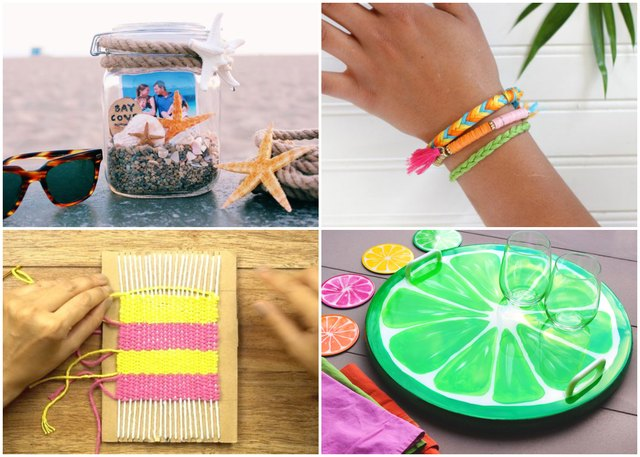 Fun Summer Crafts for the Entire Family